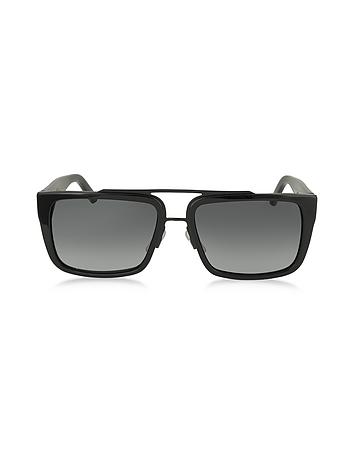 Marc Jacobs - MARC 57/S Acetate Rectangular Aviator Men's Sunglasses