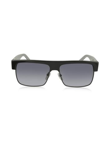 marc jacobs male marc 56s acetate and metal mens sunglasses