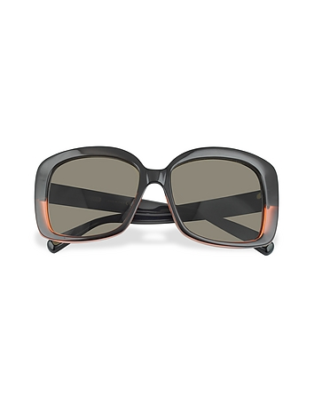Marc Jacobs - Black and Red Square Sunglasses