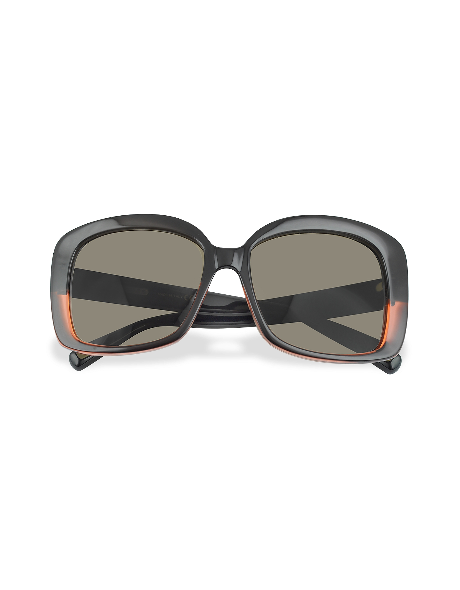 Marc Jacobs Sunglasses, Black and Red Square Sunglasses