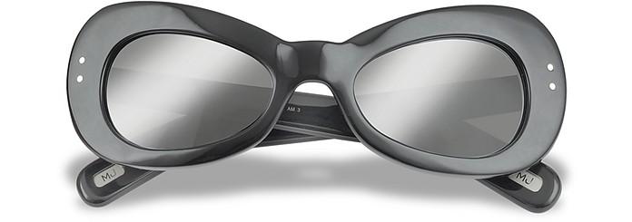 Black Oval Sunglasses - Marc Jacobs