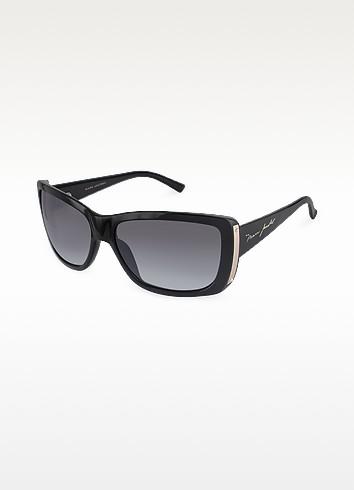 Plastic Rectangular Signature Temple Sunglasses - Marc Jacobs