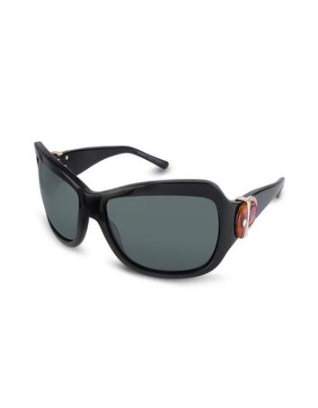Marc Jacobs Signature Horsebit Plastic Oversized Sunglasses