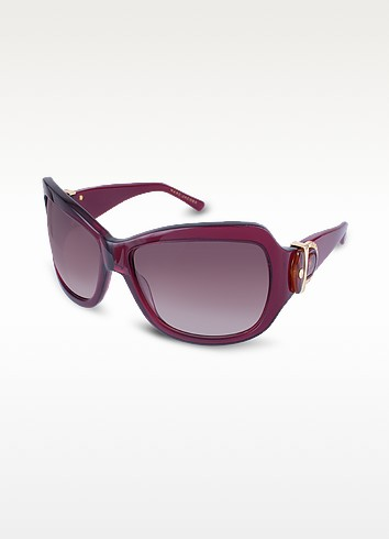 Signature Horsebit Plastic Oversized Sunglasses - Marc Jacobs