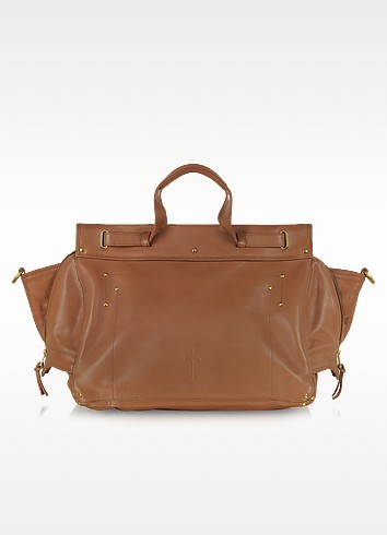 Carlos Nuts Leather Tote - Jerome Dreyfuss