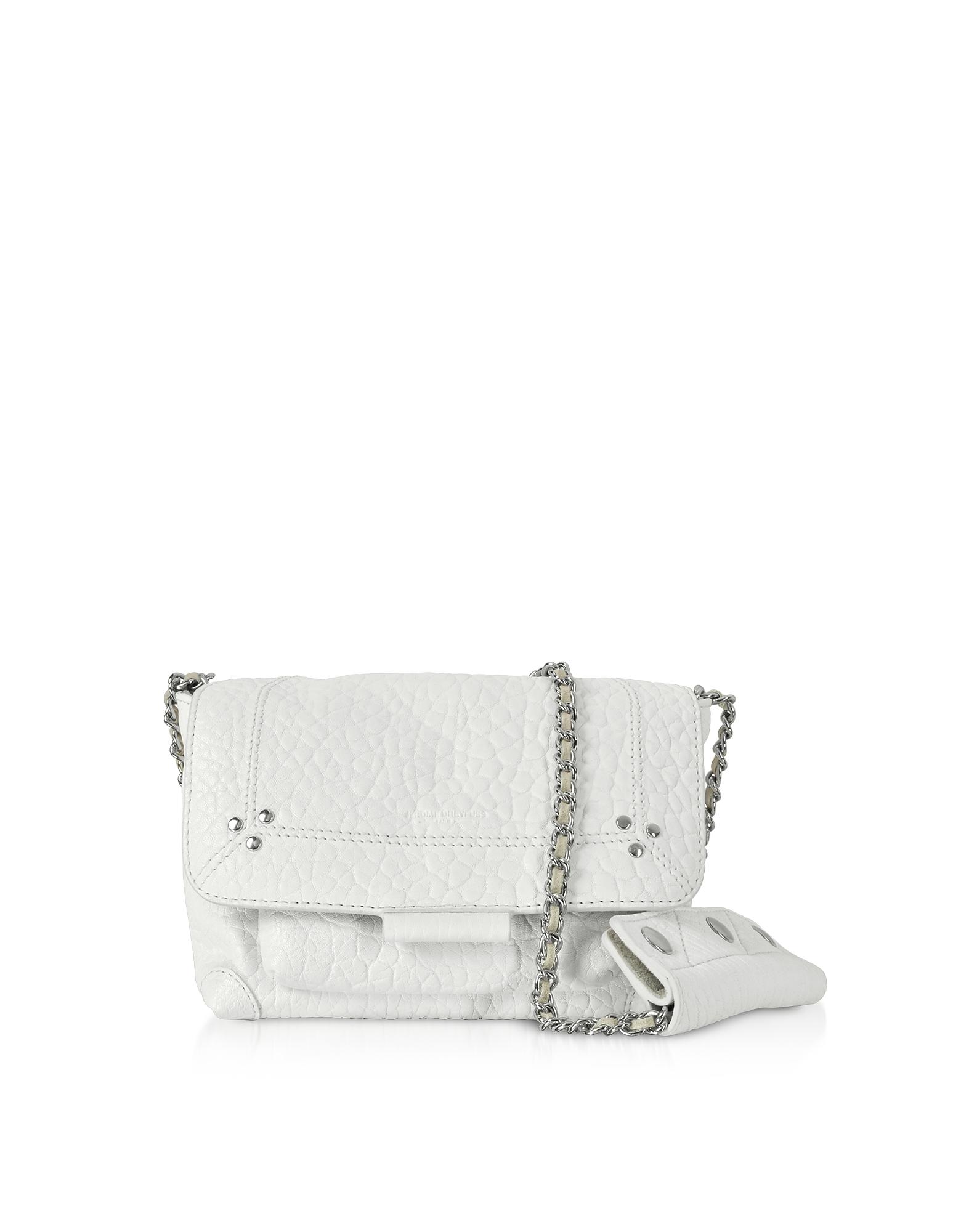 Lulu S Leather Shoulder Bag