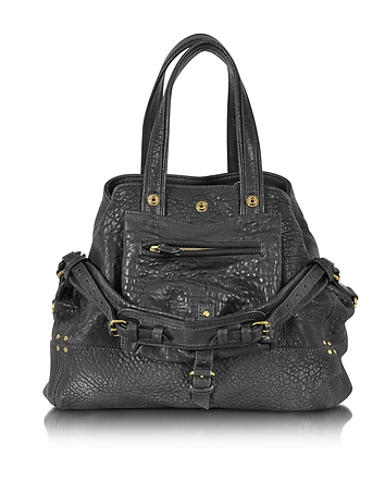 Jerome Dreyfuss - Billy M Black Lambskin Handbag