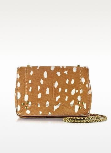 Eliot Pony Hair and Leather Small Bag - Jerome Dreyfuss
