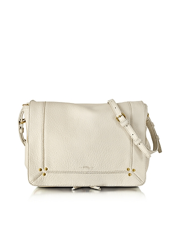 Igor Creme Deerskin Shoulder Bag