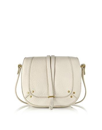 Victor Cream Deerskin Shoulder Bag