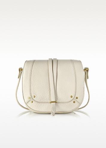 Victor Cream Deerskin Shoulder Bag - Jerome Dreyfuss