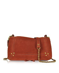Bobi Rust Leather Shoulder bag - Jerome Dreyfuss