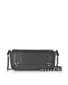 Bob Black Leather Mini Shoulder bag - Jerome Dreyfuss