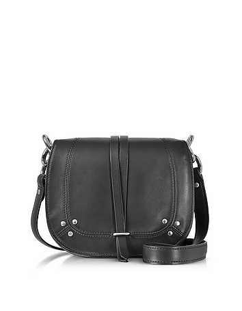 Jerome Dreyfuss - Victor Black Leather Shoulder Bag