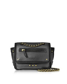Benji Leather and Suede Mini Crossbody Bag - Jerome Dreyfuss