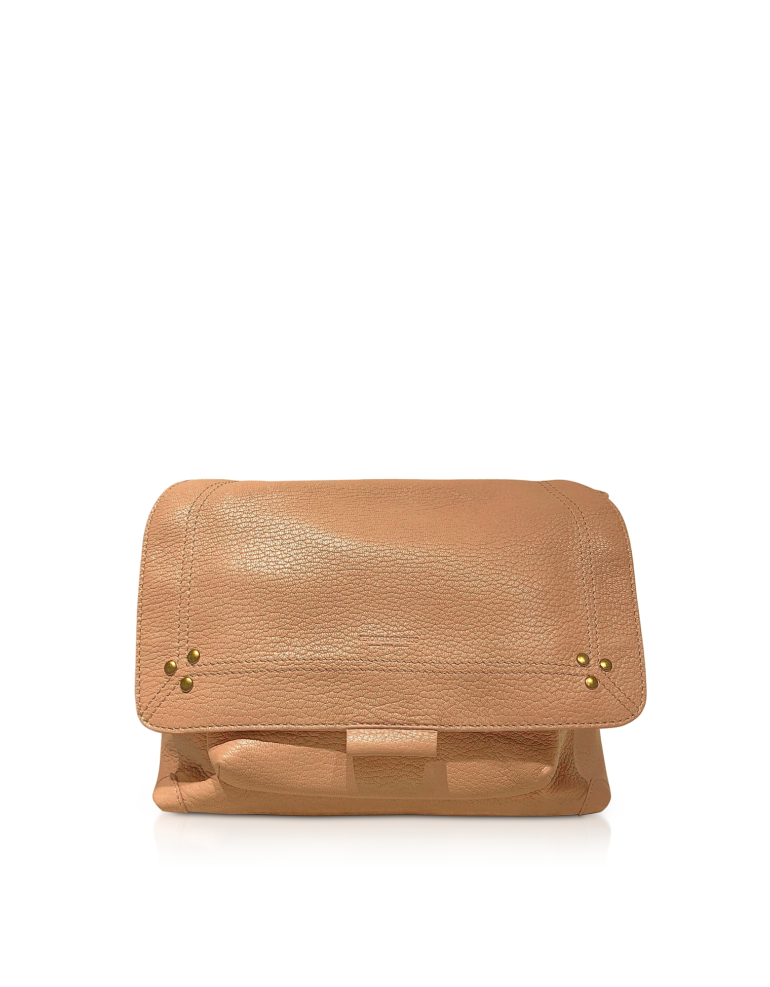 Lulu M Rose Leather Shoulder Bag
