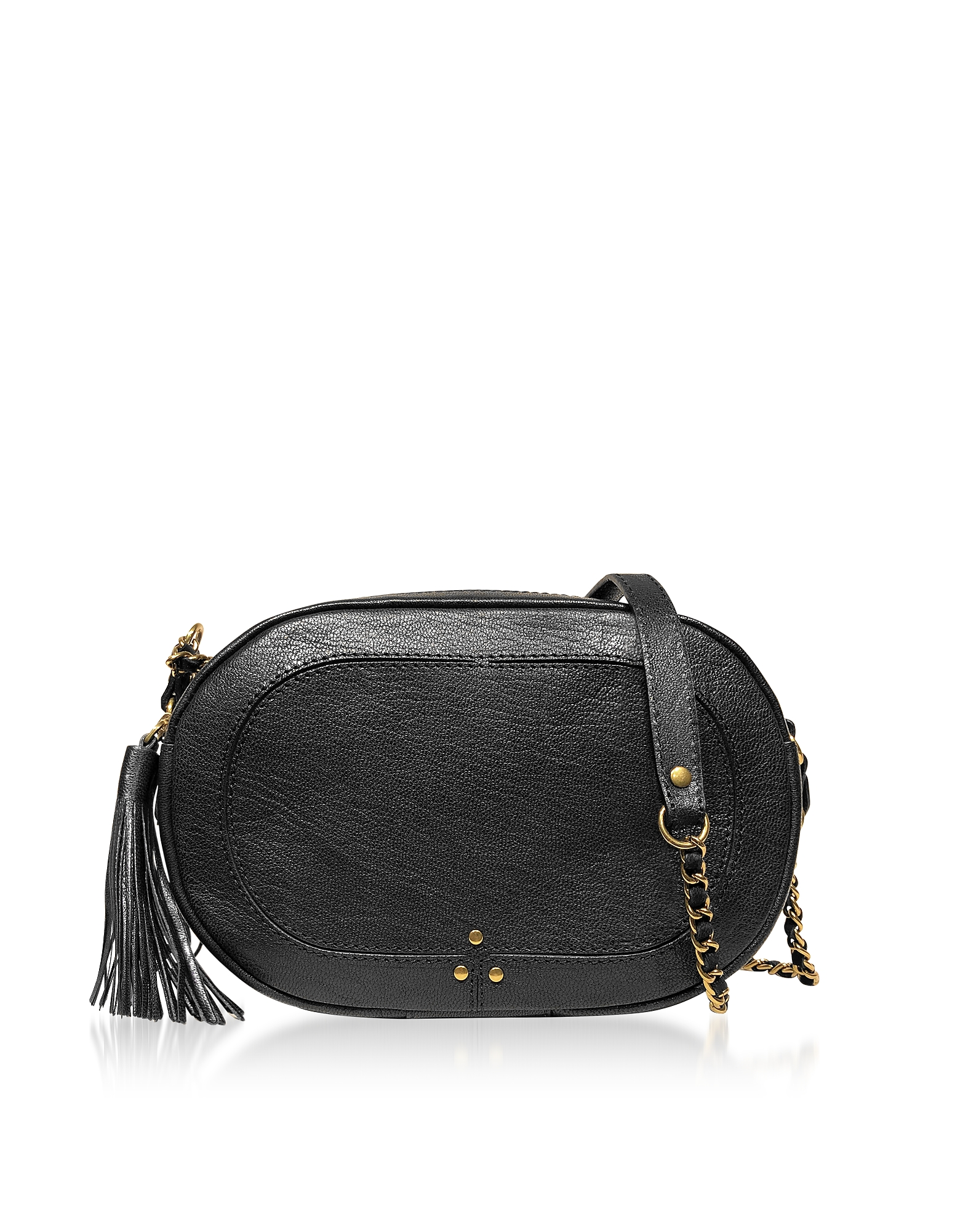 JEROME DREYFUSS | Jerome Dreyfuss Designer Handbags, Black Leather Shoulder Bag | Goxip