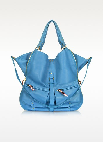 Etienne - Large Leather Tote - Jerome Dreyfuss