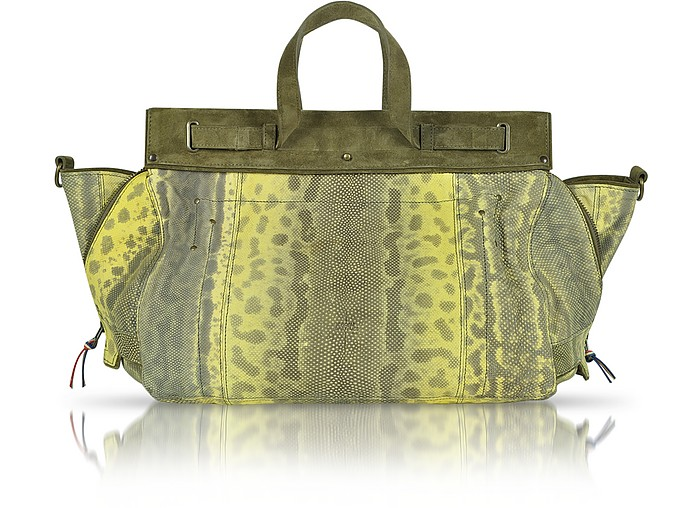 Carlos Karung Leather Tote - Jerome Dreyfuss