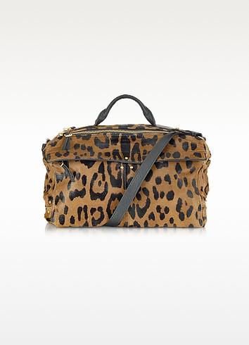 Raoul - Leopard Print Satchel Bag - Jerome Dreyfuss