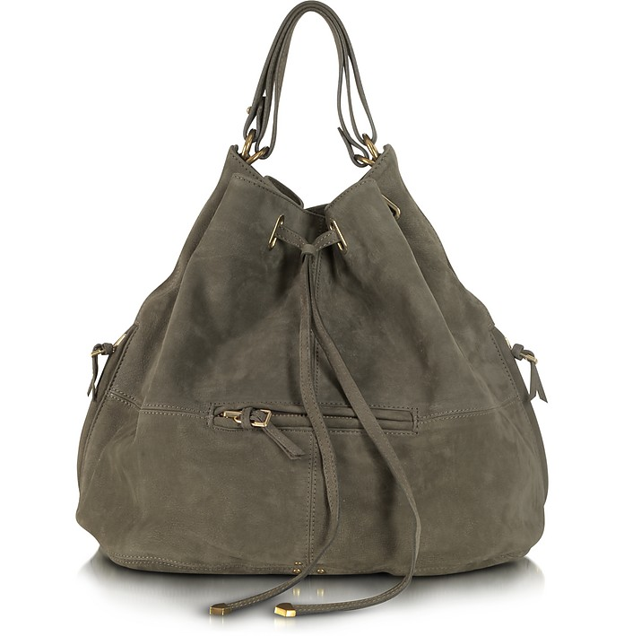 AlaAlian Vert De Gris Goatskin Bucket/Shoulder Bag - Jerome Dreyfuss / ジェローム ドレフュス