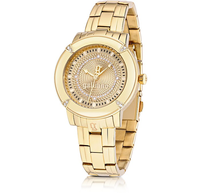 The Decorator Gold Tone Stainless Steel Women's Watch - John Galliano