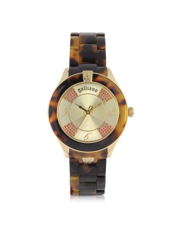 Tortoise Pictural Women's Watch