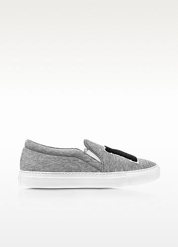 Grey Jersey NY Slip-on Sneaker - Joshua Sanders