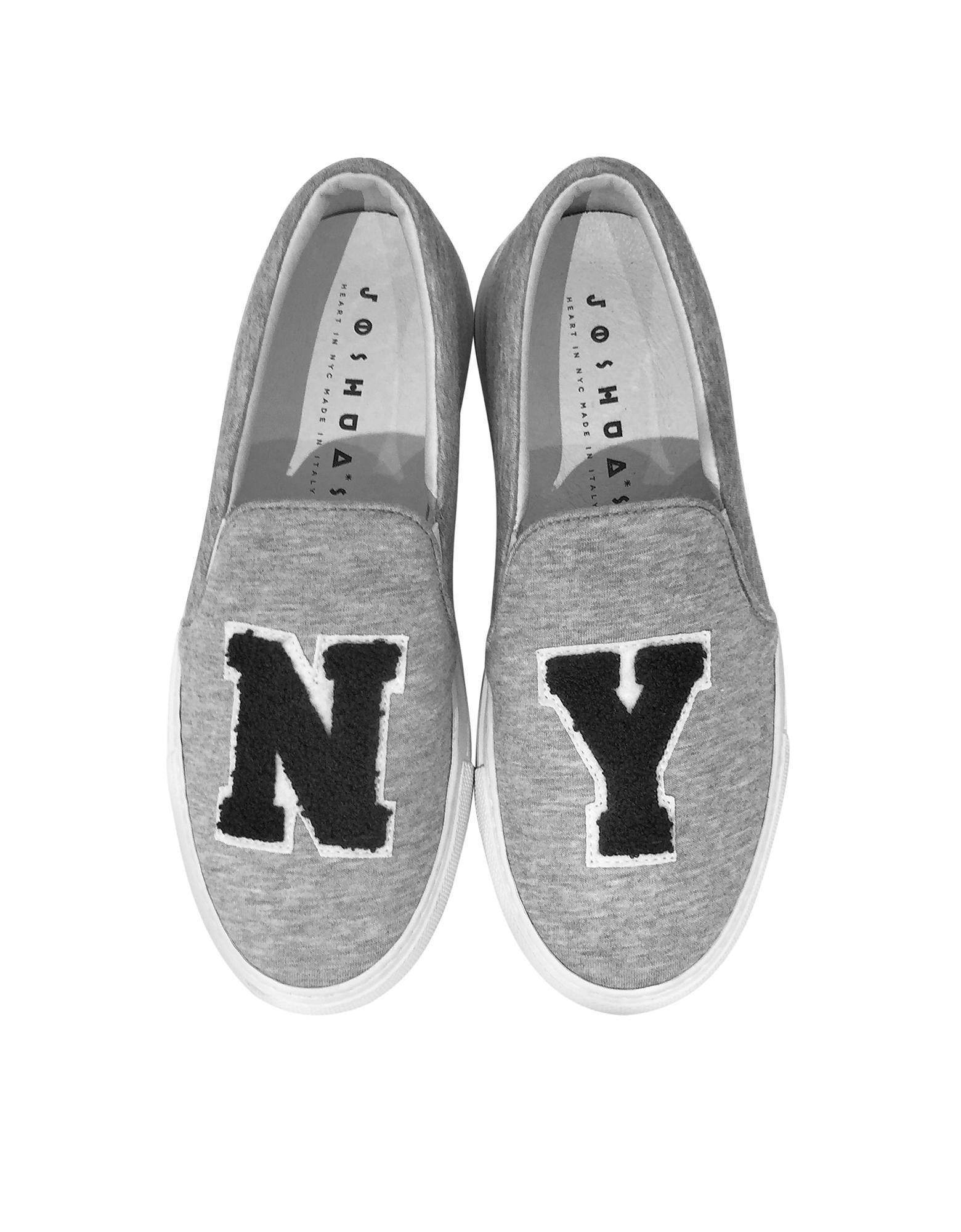 Grey Jersey NY Slip-on Sneaker от Forzieri.com INT