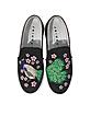 Peacock Multicolor Fabric Slip-on Sneaker - Joshua Sanders