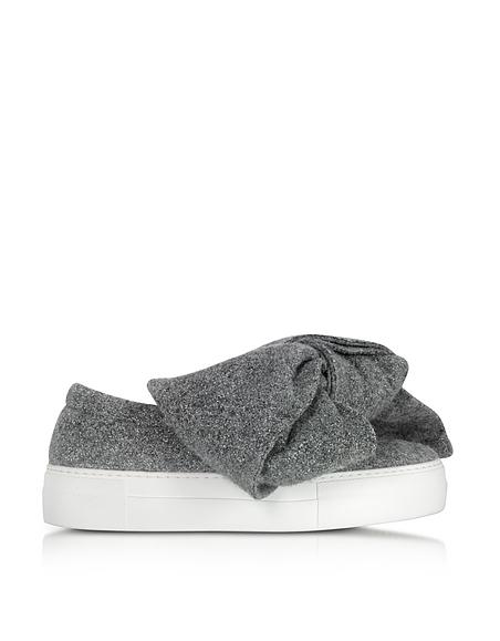 Bullboxer Keil Sneaker Boot grau schwarz Aspalto nero