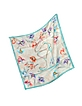 Ari Shoe and Floral Printed Silk Square Scarf - Jimmy Choo