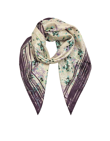 Jimmy Choo - Stars Printed Silk Square Scarf