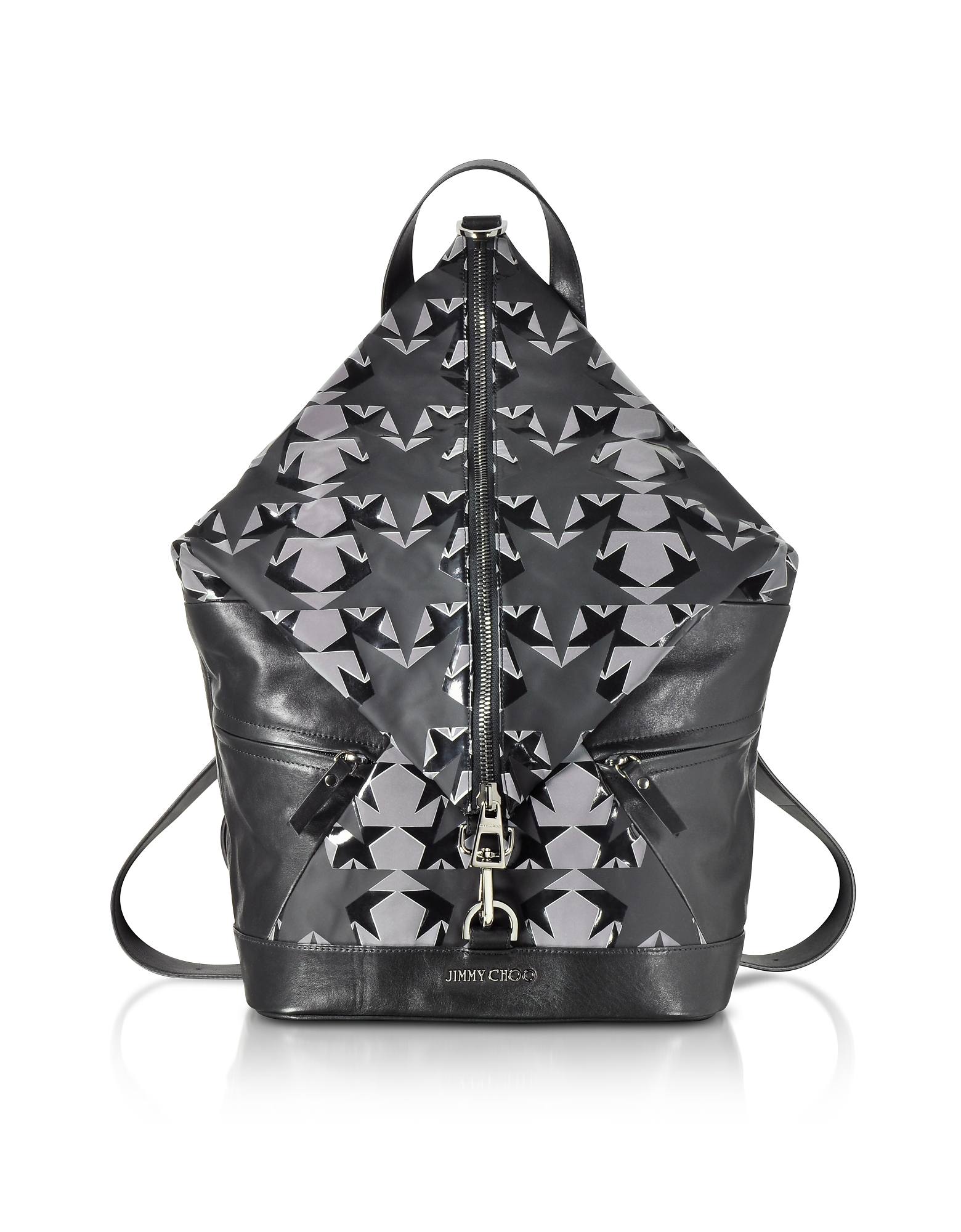 Jimmy Choo Handbags, Fitzroy GNY Graphic Stars Print Fabric Backpack