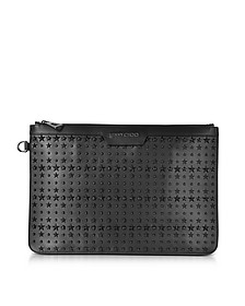 Derek Leather Clutch w/Stars - Jimmy Choo
