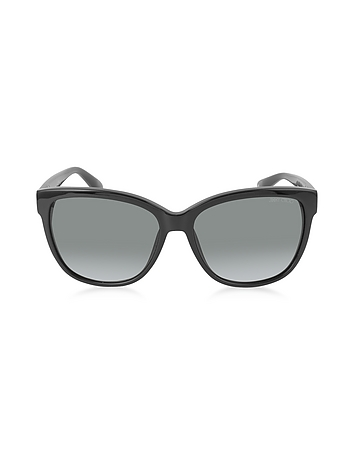 CHANTY / S 29AHD Black Acetate Women's Sunglasses