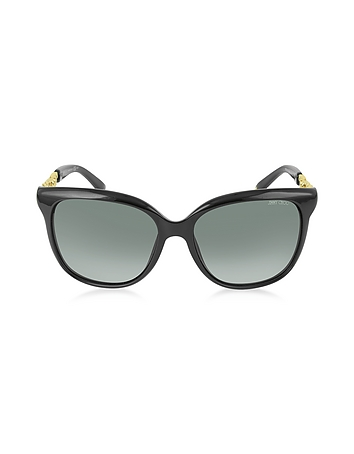 BELLA / S BMBHD Black Acetate Frame Women's Sunglasses