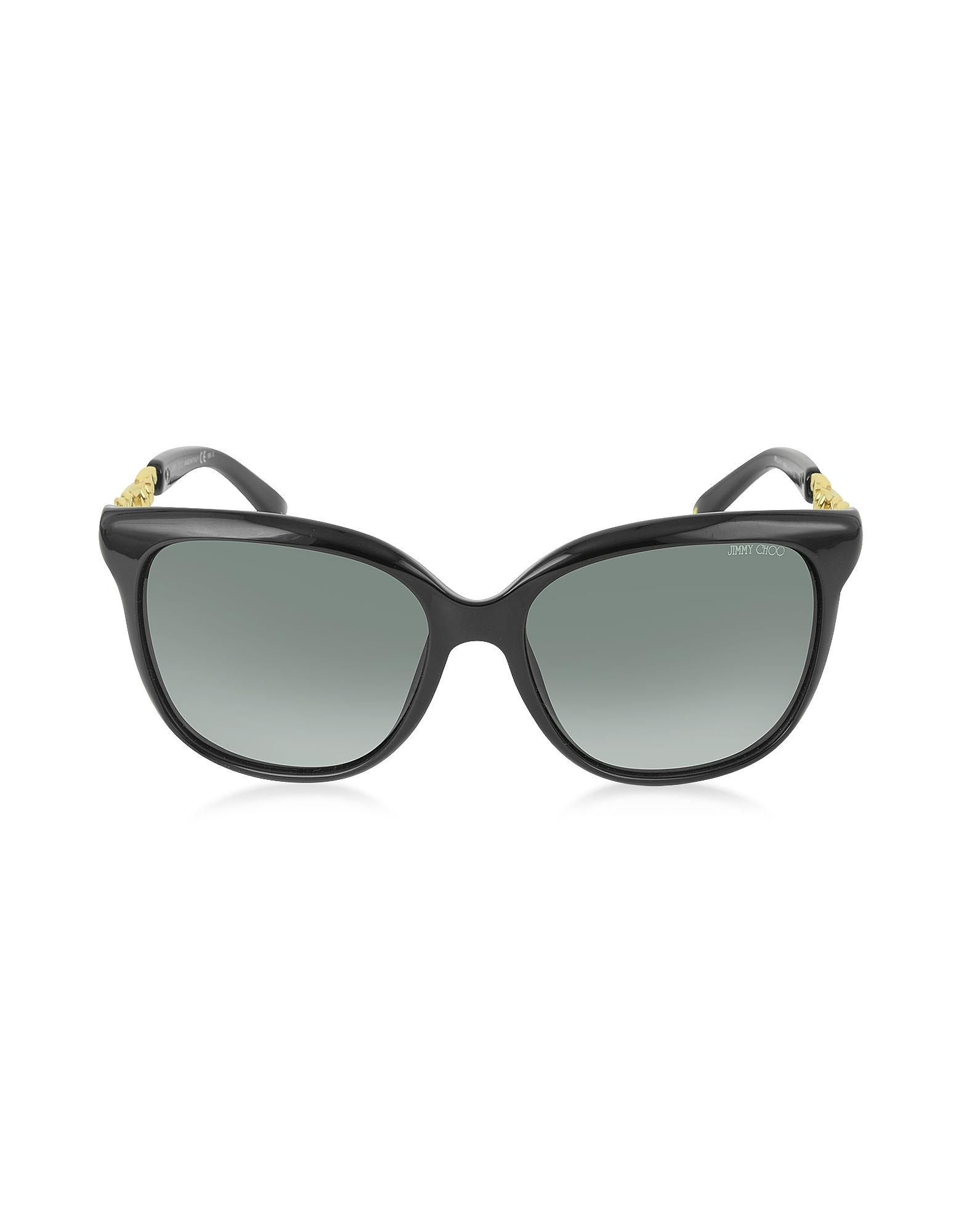 BELLA/S BMBHD Occhiali da Sole in Acetato Nero