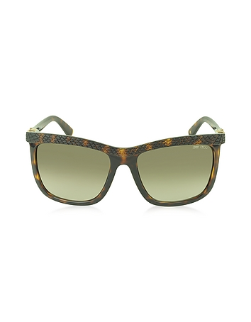 Jimmy Choo - REA/S 791HA Havana Lizard Acetate Women's Sunglasses