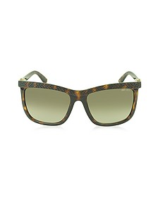 REA/S 791HA Havana Lizard Acetate Women's Sunglasses - Jimmy Choo