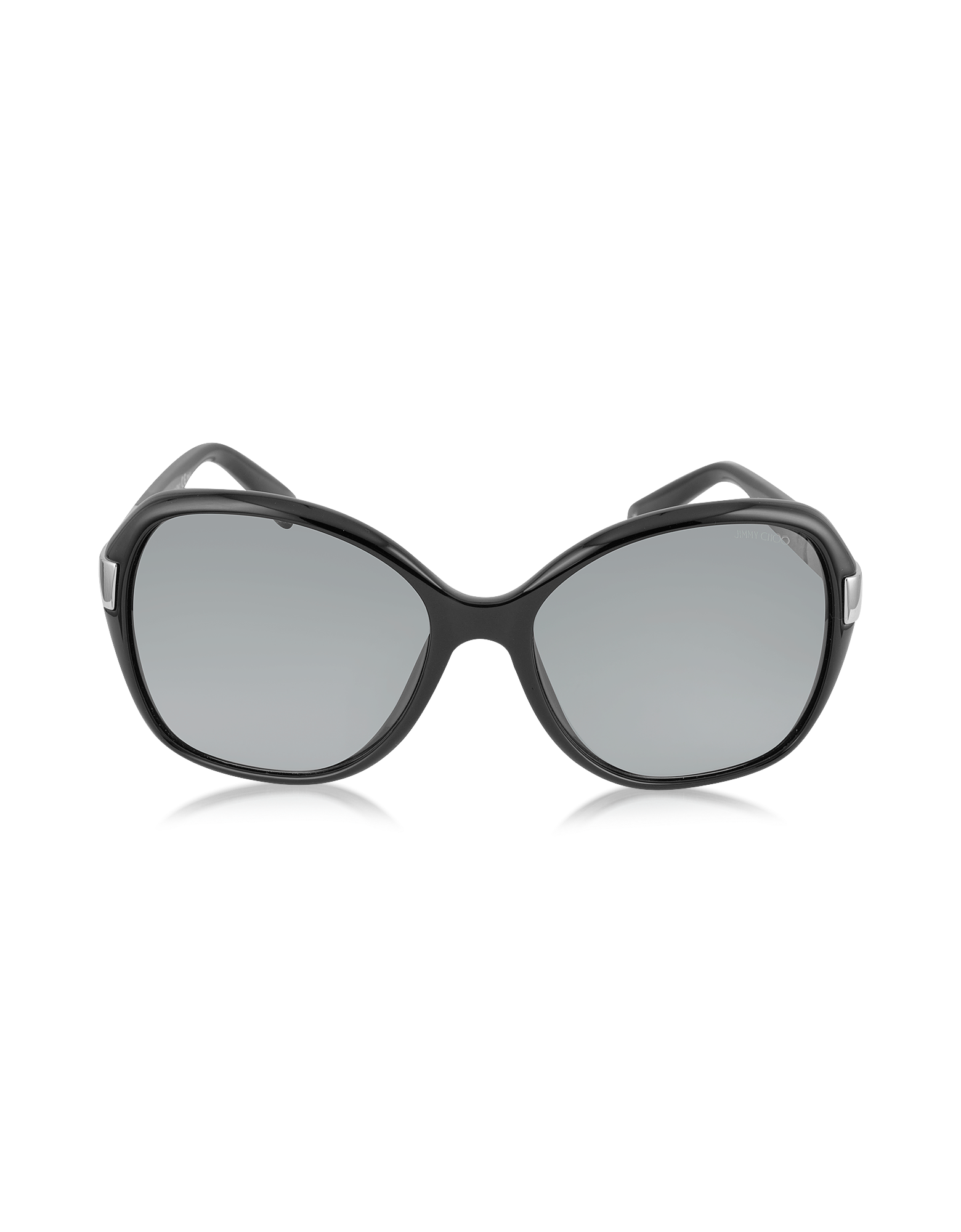 Image of ALANA/S Round Framed Sunglasses w/Crystal Inserts