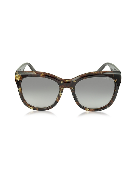 Foto Jimmy Choo NURIA/S W036P Occhiali da Sole in Acetato