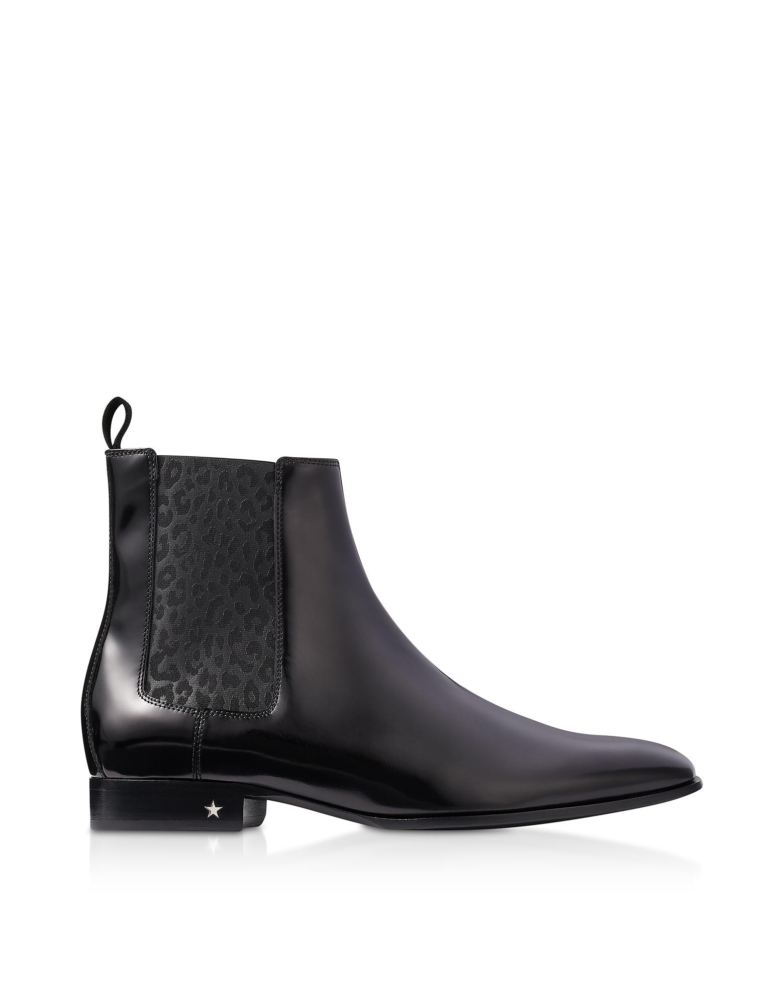 Jimmy Choo Black XCL Sawyer Boots
