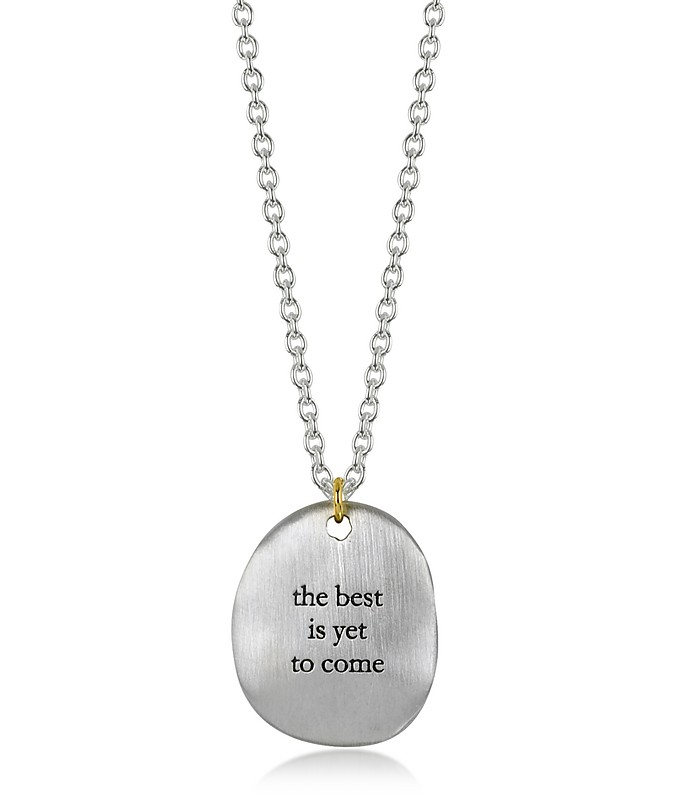 bjorg the best is yet to come necklace at forzieri