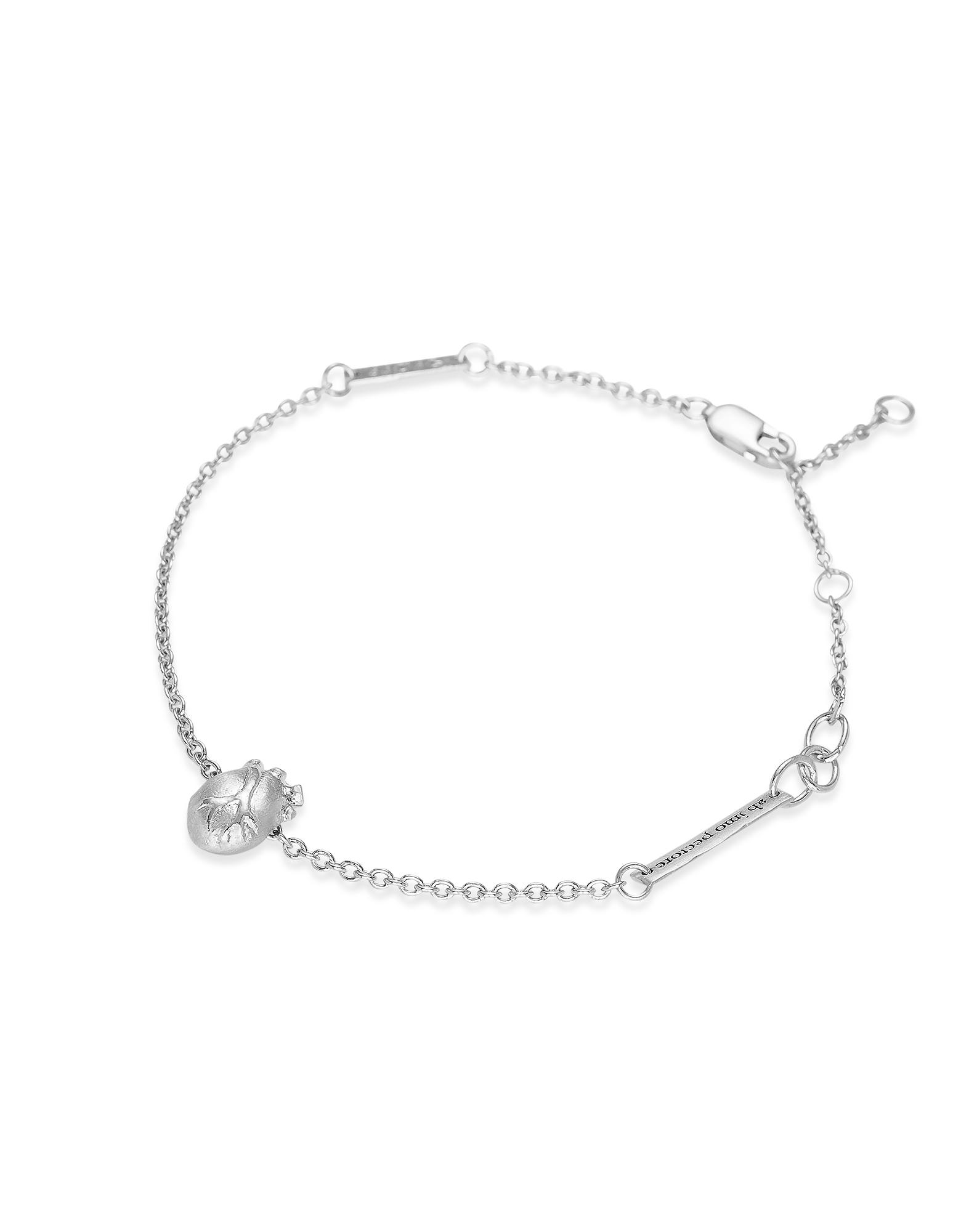 Bjorg Bracelets, Small Gold Anatomic Heart Bracelet