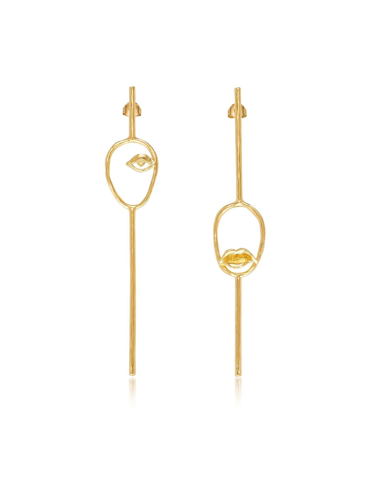 Bjorg Earrings, Les Deux Magots Earrings
