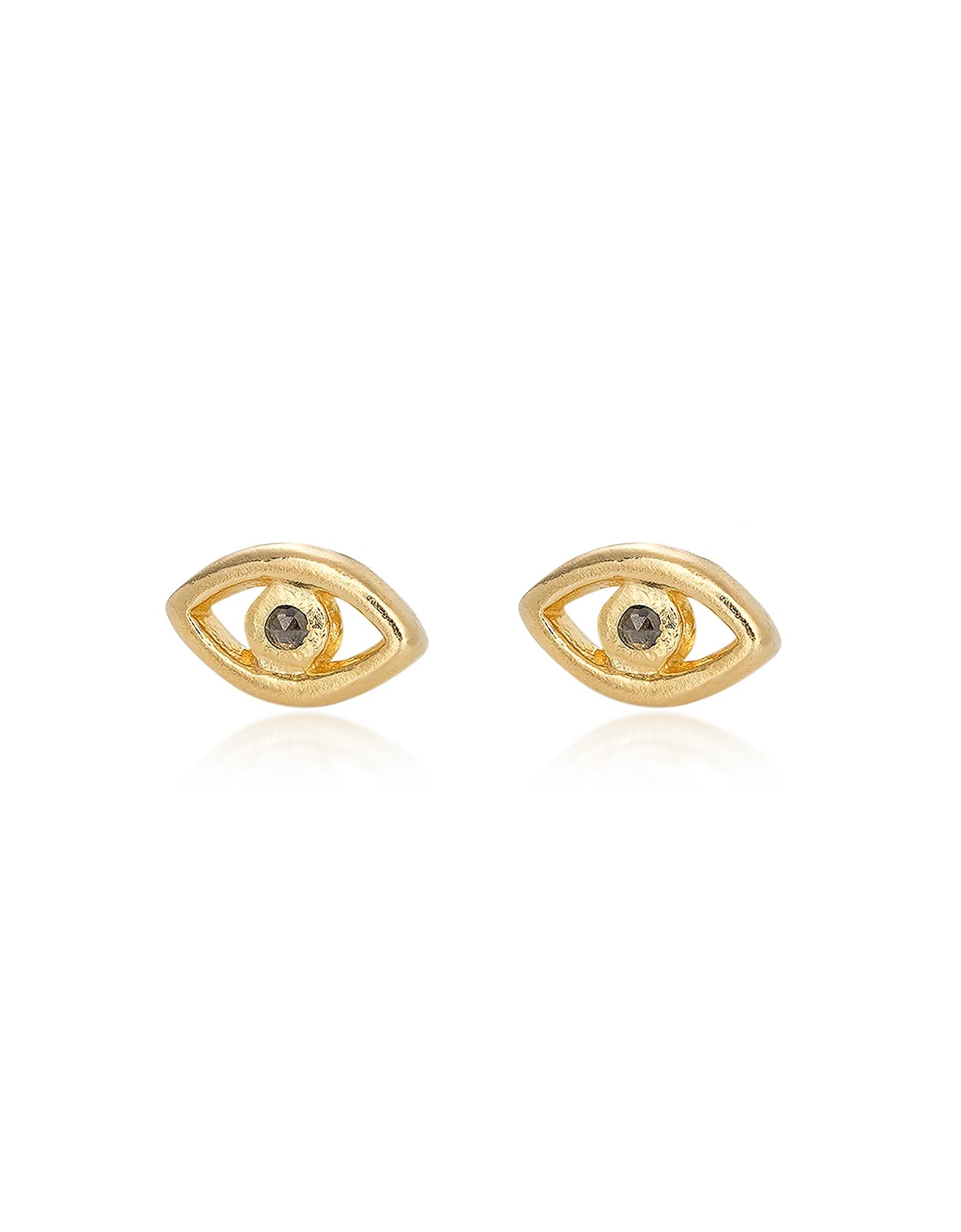 Bjorg Earrings, The Third Eye Earstuds
