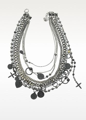 Madonna Multi Chain Necklace - Jean Paul Gaultier