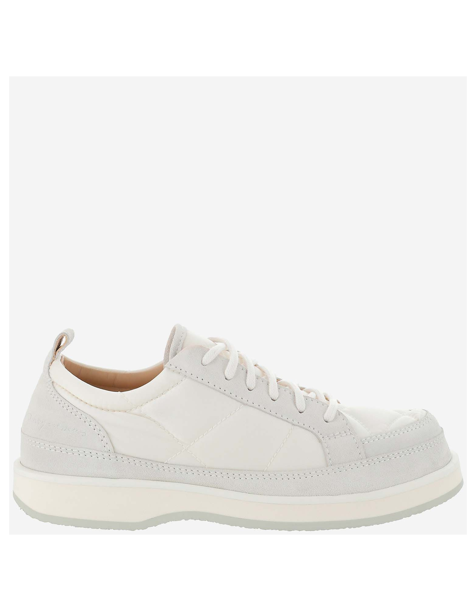 Jacquemus Designer Shoes, Light And Natural Low Top Sneakers