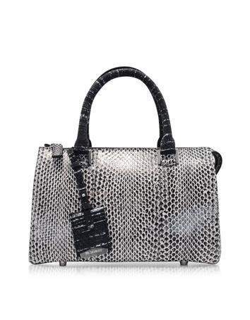 Small Jil Bag Black & White Ayers Satchel